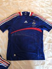 New ADIDAS FRENCH FOOTBALL FEDERATION/FFF Mens Soccer Jersey Small S Climacool
