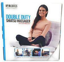 Homedics Double Duty Shiatsu Massager w/ Soothing Heat for Back Feet Neck Legs
