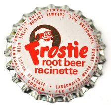 Frostie Root Birra Soda Tappo Bottiglia USA Sigillo in plastica