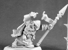 1x KONRAD GRANITEHE -WARLORDS REAPER miniature jdr rpg dwarf nain kragmarr 14573