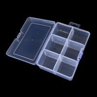 1pcbig 6compartments fishing lure tackle hook bait storage box container caseCSH
