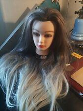 TÊTE A COIFFER MANNEQUIN  HAIR FEMME WOMAN CHAPEAU CASQUETTE- DANSEE MEIBR