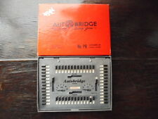 Vintage 1959 Auto Bridge Solitaire Deluxe Pocket Game Cards One Player Toy