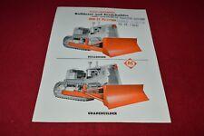 Allis Chalmers HD-21 Crawler Tractor Gradebuilder Dealers Brochure YABE14