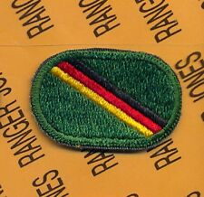 10th Special Forces Group Airborne SFGA Det Europe para oval patch B-3