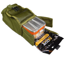Esee Knives Survival Kit in Mess Tin with Olive Drab Molle Pouch Candiru Knife