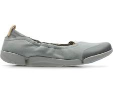 Clarks Ladies Ballet Shoes TRI ADAPT Grey Nubuck UK 6 / 39.5 RRP £59
