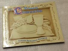 Sadlers Bilingual Primera Comunion First Communion Sacrament Program 2000 PB