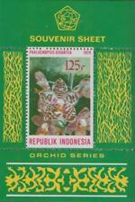 Indonesia 1979 Souvenir Sheet #1047a Orchid - MH