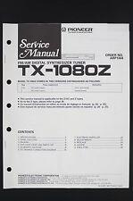 PIONEER TX-1080Z Original Tuner Service-Manual/Schaltplan/Schematic Diagram o120