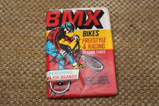 NOS OLD SCHOOL BMX DONRUSS BMX CARDS WAX PACK 7 CARDS