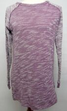 Champion Elite Women's Medium Shirt Purple Lightweight Crew Neck Long Sleeve
