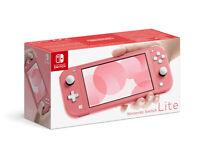 Nintendo Switch Lite Rosso Coral Consola Nintendo