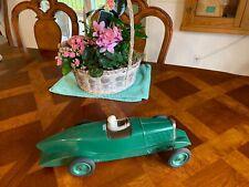 CITROEN ROSALIE TIN RACE CAR  1934 LES JOUETS  ORIGINAL WIND-UP 17 INCHES LONG
