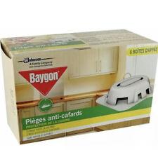Baygon Pièges Anti-cafard Boîtes D'appât Efficacité 3 mois Pack de 6