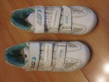 LOUIS GARNEAU Women's Air Flora 2 Road Cycling Bicycle Shoes White Women's 38 7