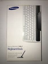"Samsung Galaxy Tab 2 7"" Keyboard Dock White EKD-K11AWEGSTD"