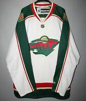MINNESOTA WILD NHL ICE HOCKEY USA JERSEY REEBOK SIZE L SHIRT