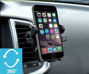 Car Air Vent Mount Cell Phone Holder One Touch Compatible Any Phone