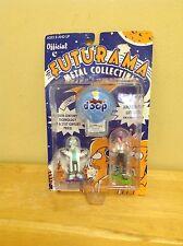 Futurama Official Metal Collectible Figure Set - Leela, Doop, Rocket - 2001