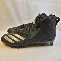 New Adidas FREAK X CARBON Mid Black/Black Football Cleats CG4404 Men's Size 11