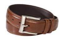 Florsheim Mens Pebble Grain Leather Belt 32mm, 1136 Choose color NWT