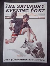Saturday Evening Post August 9 1919 Norman Rockwell (COVER ONLY) reprint