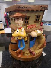 Walt Disney World Pixar Toy Story Woody Dixie Bullseye Hotel 3D Piggy Coin Bank