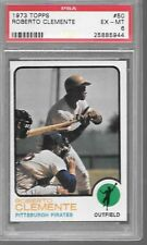 Roberto Clemente Pirates HOF 1973 Topps Baseball Card #50 PSA 6 * STOCK PHOTO *