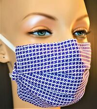 Free Filters,Purple,Soft Fit Quality, Face Mask,Cover, Made Usa,Cotton,Reusable
