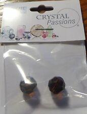 Bead, Swarovski® Crystals, Mocca, 10mm faceted round (5000), 2 pkg., #2983