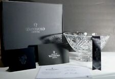 """*NEW* House of Waterford CITY AMBASSADOR Crystal Footed Bowl 10"""" Made IRELAND"""