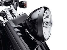 "Harley Davidson Headlamp Trim Ring - Gloss Black for 7"" Headlamp Black 67700115"