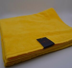 Ralph Lauren Beach Towel In Yellow Cotton New With Tags Genuine Item RRP £45
