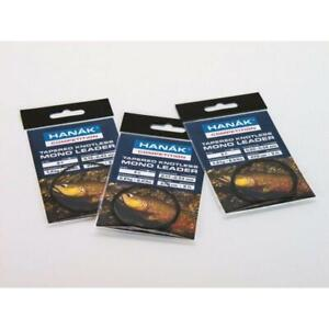 Hanak 9ft Tapered Leaders / Clear or Camou / 1.4 KG - 3.6KG Strength