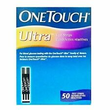 1000 One Touch Ultra Blood Glucose DiabeticTest Strips 50*20 Box Exp SEPT (09)21