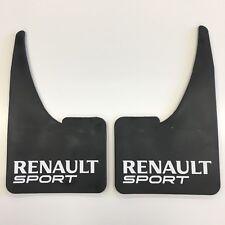 x2 Renault Sport Car Mudflaps Rubber Mud Flaps Clio Twingo Megane