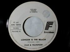 "IVAN & TRANSPORT Longer is the beach 7"" PR0M0 GRAZIANI THE CRAZY GUITARS"