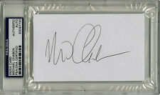Michael Chabon SIGNED 3x5 Index Card Pulitzer Prize Fiction PSA/DNA AUTOGRAPHED