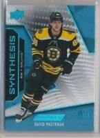2019-20 Engrained Synthesis 32 David Pastrnak /50 Boston Bruins