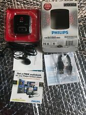 Philips Go Gear Raga Mp3 Player 900 4GB Sport Pack GoGear New open Box RARE HTF