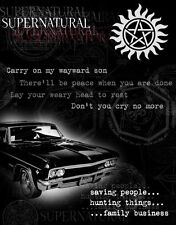 """606 Hot Movie TV Shows - Supernatural 18 14""""x18"""" Poster"""