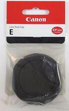 Geuine Canon E Rear Lens Dust Cap EF Rear Lens Cap - New UK Stock