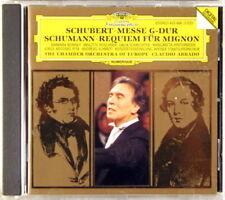 DGG CD 1993 GERMANY Schubert Schumann ABBADO Mass/Requiem 435 486-2