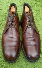 202- Chaussures boot hommes excellent état marron church's 85F / 42,5 bon état
