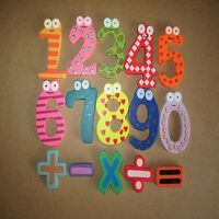Magnetic Wooden Numbers Math Set Digital Baby Educational Toy Tide