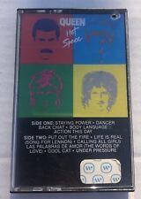 Queen - Hot Space 1982 Cassette Tape