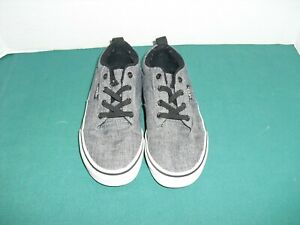 VANS Gray Grey US Kids Size 13 Youth Shoes Sneaker Unisex