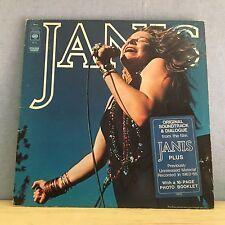 JANIS JOPLIN Janis 1975 UK double vinyl LP EXCELLENT CONDITION soundtrack film A