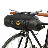Waterproof bike Bicycle Roll handlebar bag Bicycle Cycling Front Frame Tube Bag